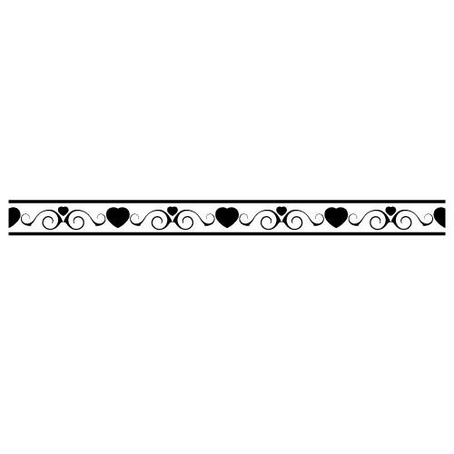 Sticker bordura decorativa WLBD22