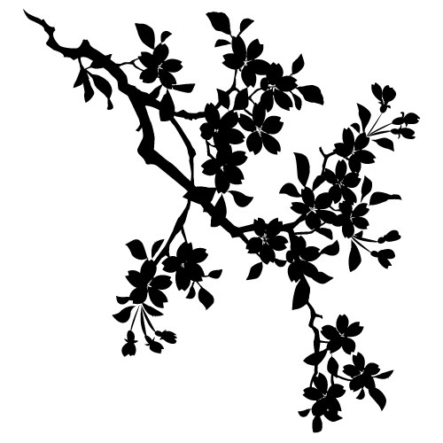 decoratiuni de perete creanga cu frunze