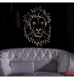 abtibild perete cap de leu