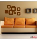 stickere decorative patrate