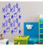 Sticker banner X-0 WCB009