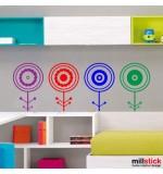 Sticker floricele WCA810