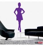 wall sticker trendy women