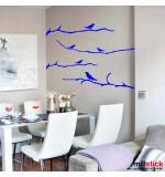 autocolante decorative crengute cu pasarele