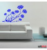 sticker decorativ flori