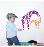 wall stickers girafe