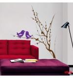stickere decorative de perete-pasarele-pe-creanguta