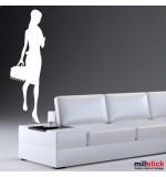 wall stickers decorativ trendy girl