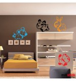 wall sticker decorativ animalute haioase