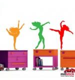 Sticker balerine WCF010