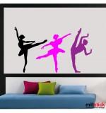 Sticker balerine WCF011