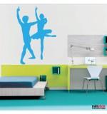 sticker de perete balerini