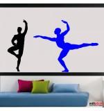 sticker decorativ 2 balerini