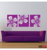 Sticker banner flori WLB023