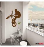 sticker decorativ biker