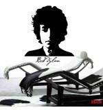 Autocolant decorativ Bob Dylan