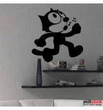 Sticker pisica WCA106