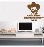 Sticker Chuck Norris WLCB26