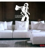 Cleant Eastwood wall sticker decorativ