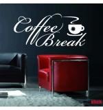 Sticker coffee break WLT120