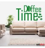 Sticker coffee time WLT121