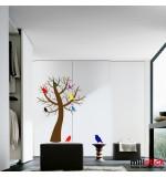 Sticker copac  cu pasari WLC130
