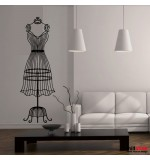 Wall sticker cuier silueta WLD035