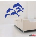 wall stickere delfini