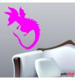 Sticker dragon WCA112
