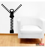Wall sticker fermoar deschis WLD028