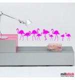 Sticker flamingo WCAV42