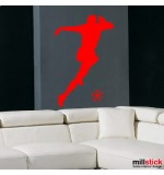 sticker de perete fotbalist