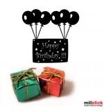 autocolant decorativ happy birthday