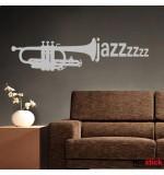 autocolant de perete jazz