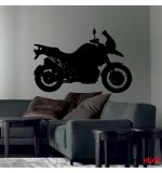 autocolant  de perete motocicleta