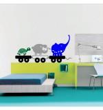Sticker platforma cu animale WCAV51