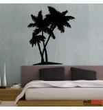 Sticker perete palmier WLC128