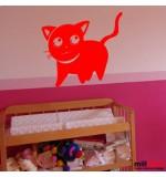 Sticker pisica WCA320