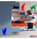 Sticker pisici WCAC14