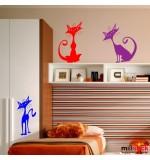 Sticker pisici WCA522