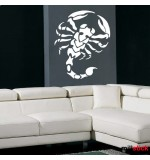scorpion autocolant