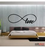 Sticker infinite love WLD059