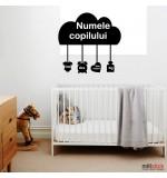 Sticker nume pentru copii  WCNC50