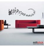 Sticker portativ muzical WLM001