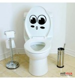 Sticker wc big eyes WBF043