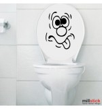 Sticker wc funny face WBF046