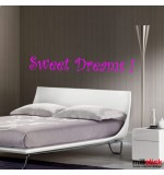 Wall sticker sweet dreams WLT224