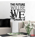 Sticker the future will be WLT226