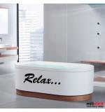 Sticker baie relax WBF025