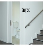autocolant decorativ wc